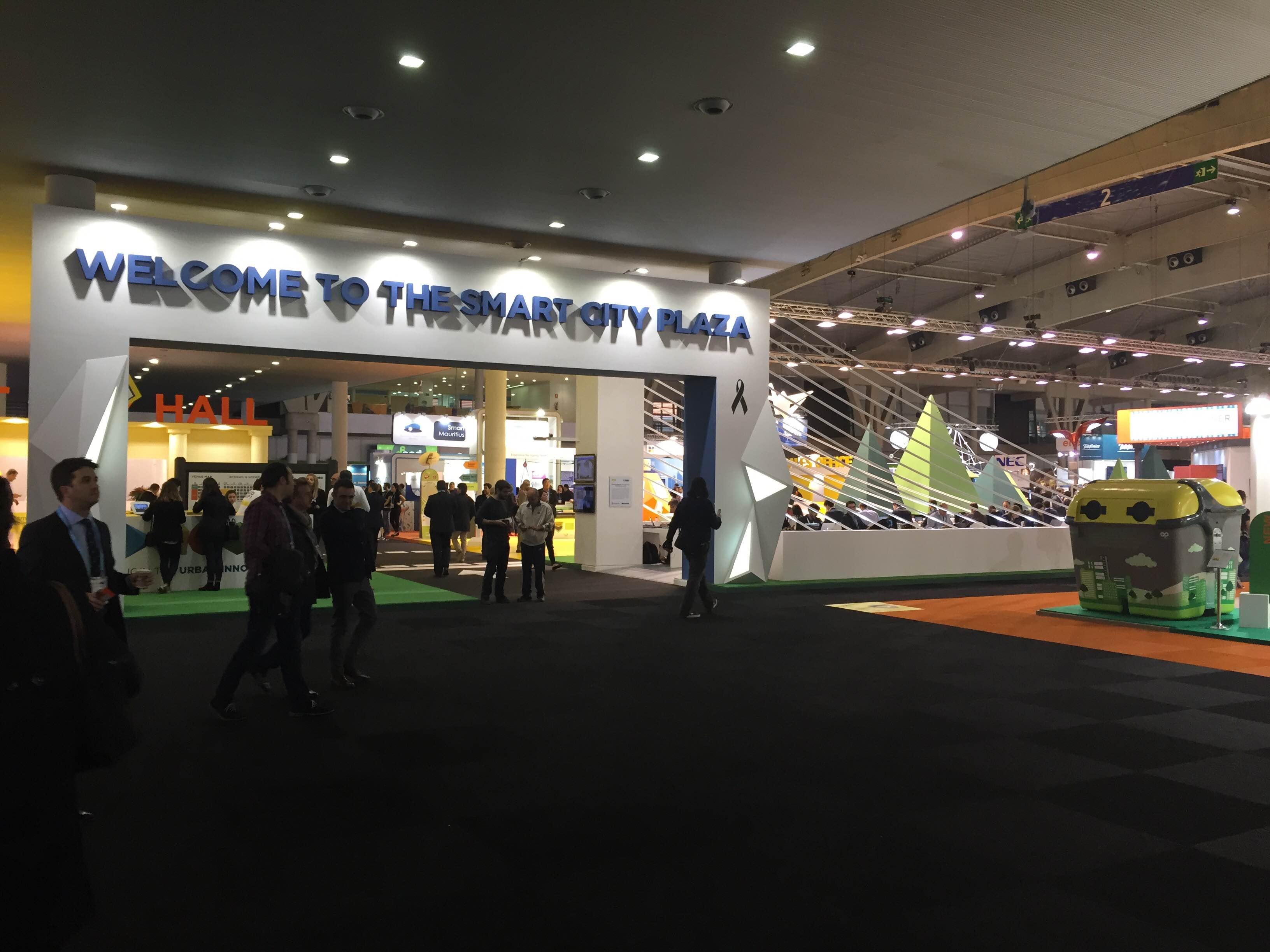 Happyclick está presente en el Smart City Expo celebrado en Barcelona del 17 al 19 de Noviembre de 2015
