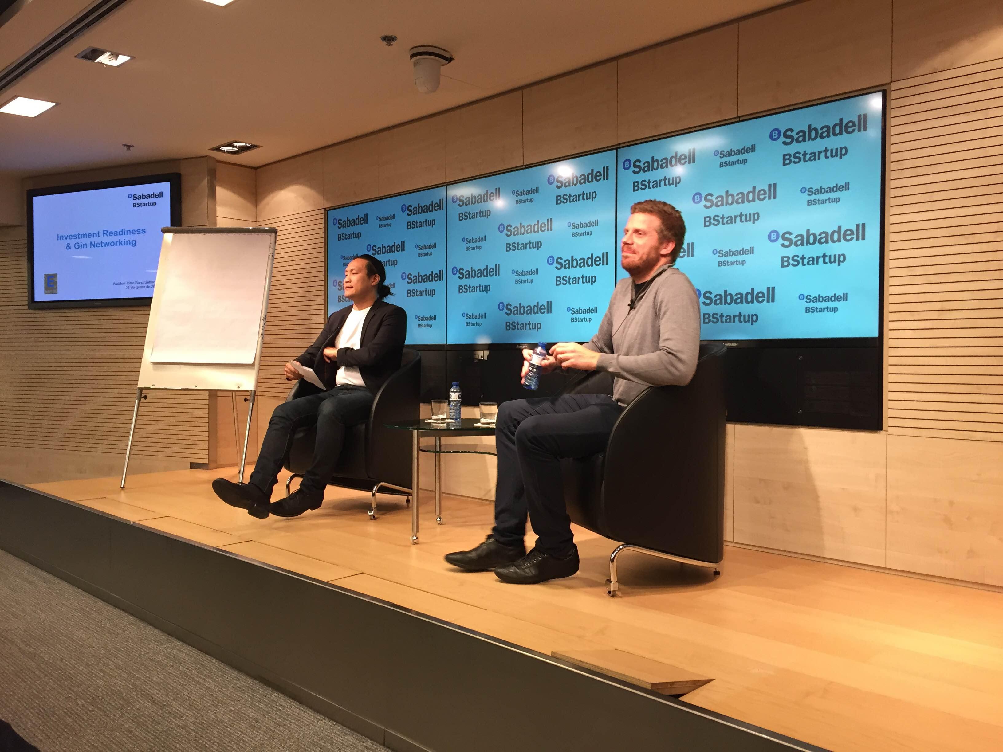 Happyclick está presente en el Investment Readiness & Gin Networking en Barcelona, celebrado por BStartup del Banco Sabadell.