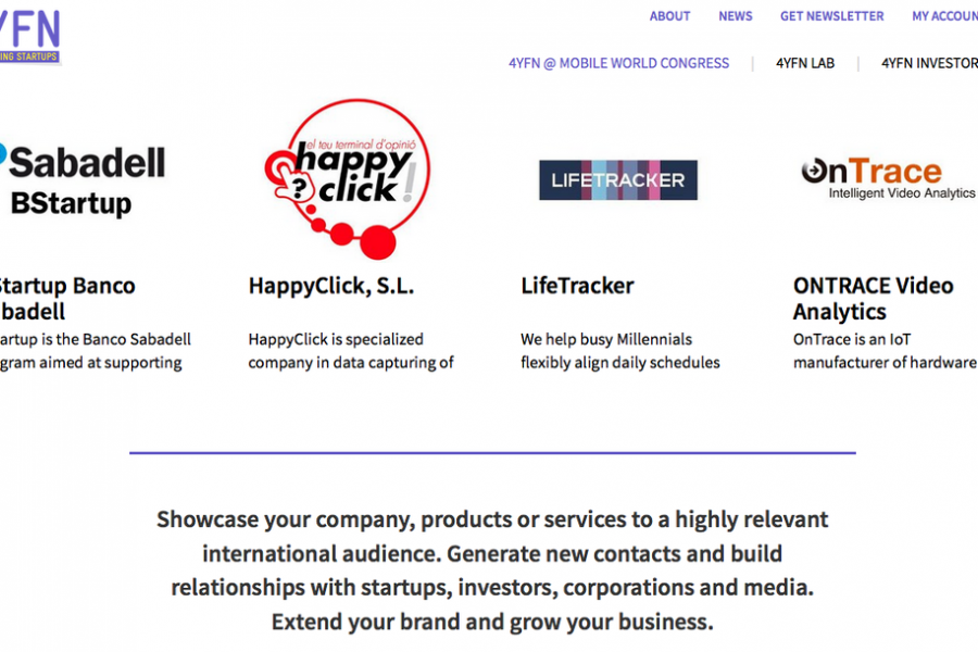 Happyclick is a exhibitor in @4YFN_MWC on 22-24 february in Bcn
